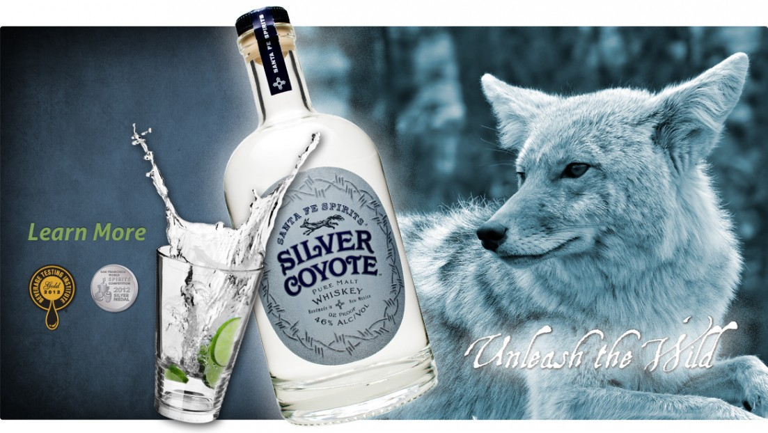 Silver Coyote Pure Malt Whiskey