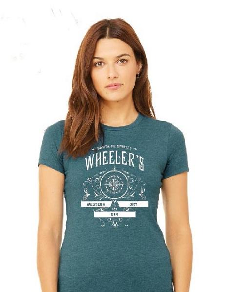Wheeler's Gin: Gin of the Southwest Ladies T-Shirt