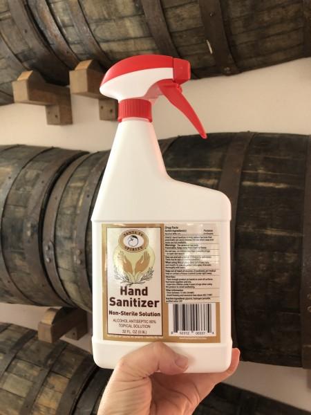 Hand Sanitizer 32 ounce spray bottle