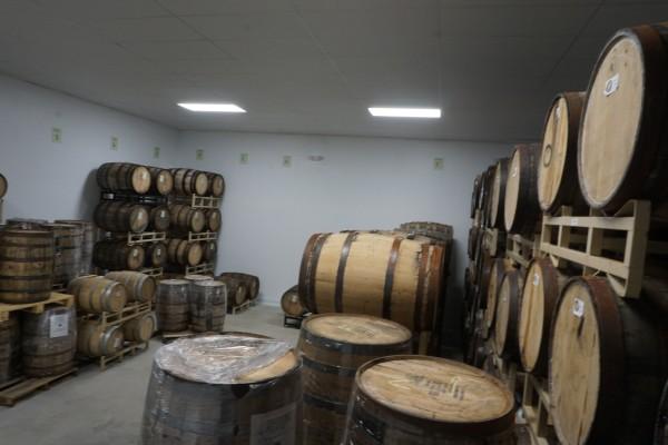 new barrel room