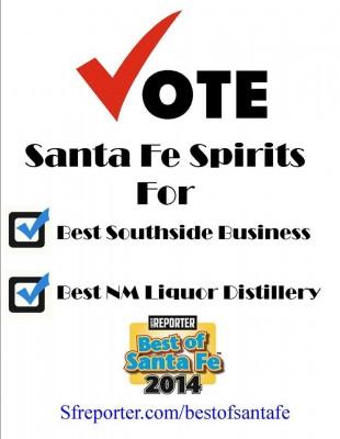 Vote for Santa Fe Spirits!