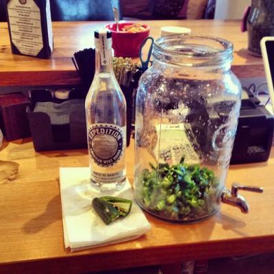 Jalapeno Infused Vodka