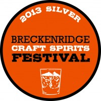 Brekenridge Craft Spirits Festival award