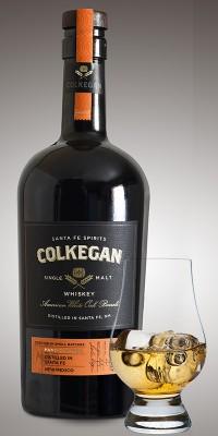 Colkegan and glass