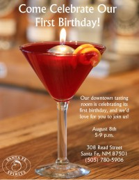 TRR birthday party announcement