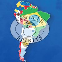 SFS logo on map of South America