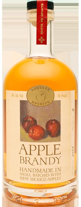 Santa Fe Spirits Apple Brandy bottle