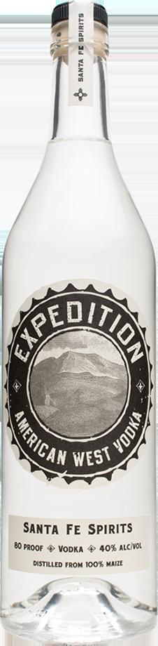 Expedition Vodka bottle